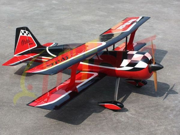 "Goldwing RC Giant Scale Pitts Python 30cc V4 61""(1550mm) ARTF (Red/Black/White)"